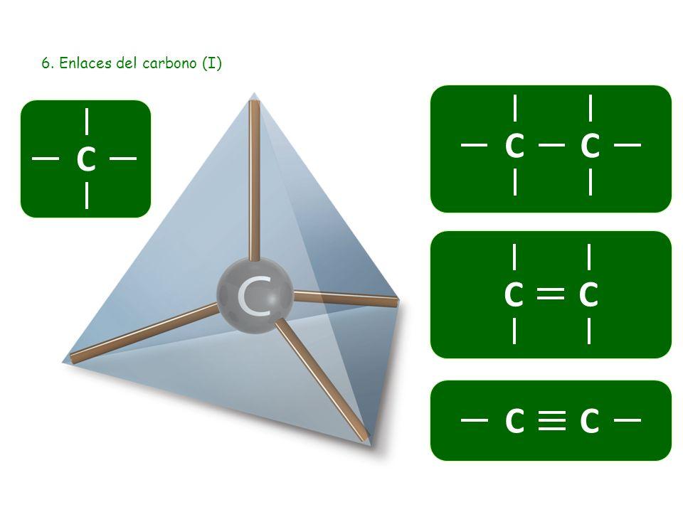 6. Enlaces del carbono (I) C CC CC CC