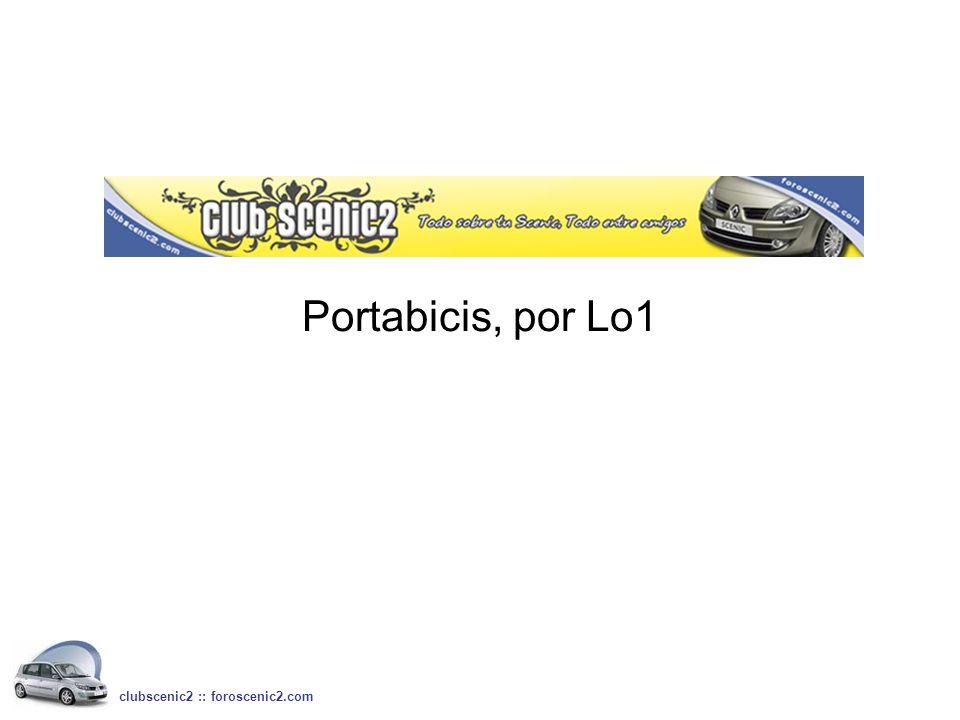 Portabicis, por Lo1 clubscenic2 :: foroscenic2.com