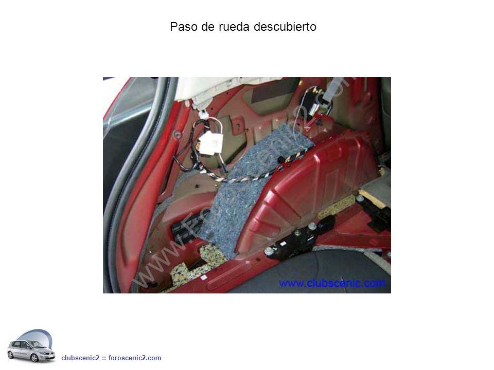 Paso de rueda descubierto clubscenic2 :: foroscenic2.com