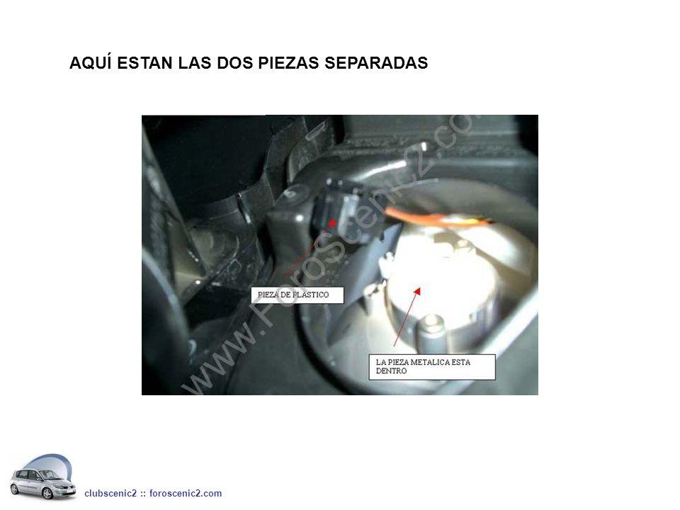 AQUÍ ESTAN LAS DOS PIEZAS SEPARADAS clubscenic2 :: foroscenic2.com