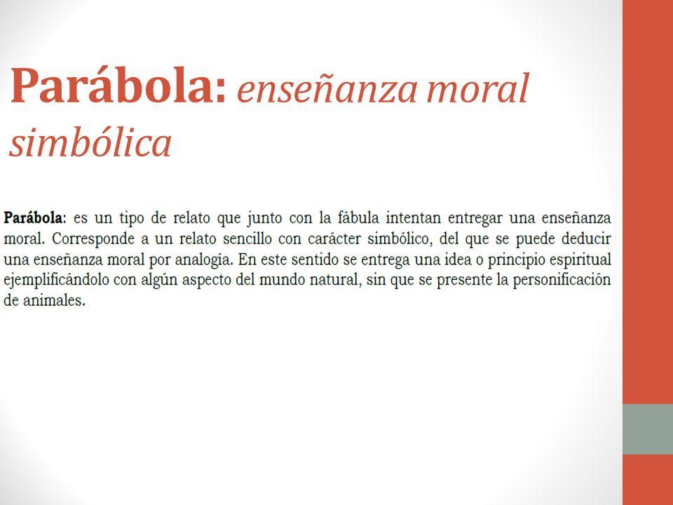 Fábula: enseñanza personificada