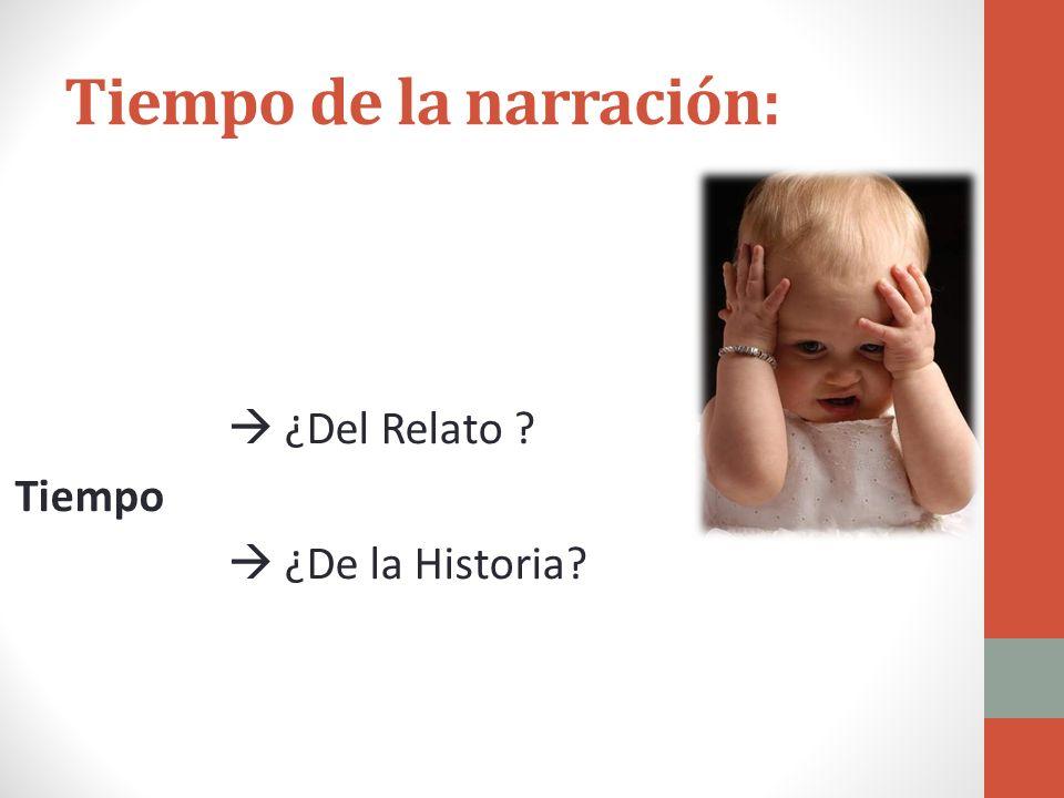 Narrativa Clase 7 Narrativa Objetivos: Tiempo relato/historia Subgéneros narrativos Cierre unidad antes de PRUEBA SEMESTRAL