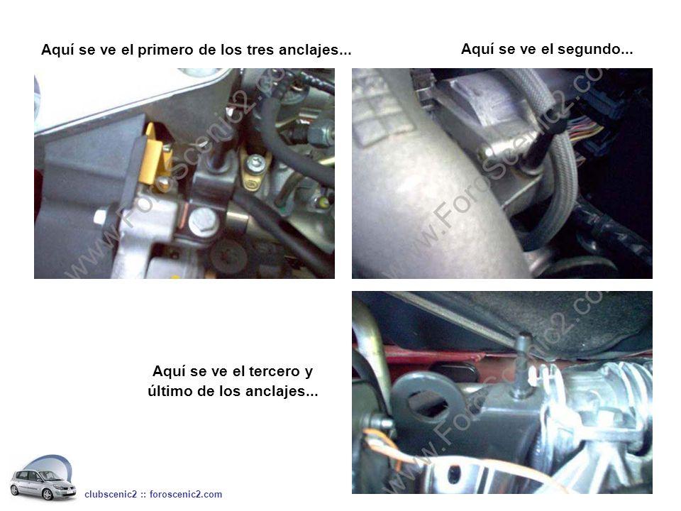 Aquí se ve el motor sin la tapa... clubscenic2 :: foroscenic2.com mas de cerca…