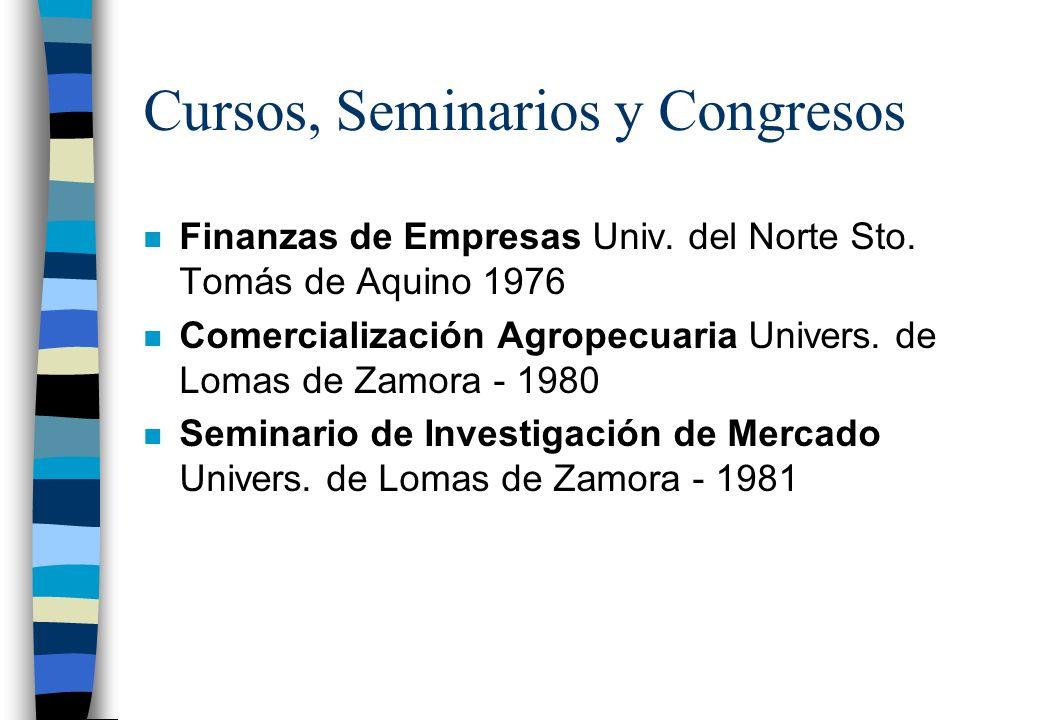 Estudios Cursados n Secundarios: Bachiller y Perito Mercantil Col. Salesiano Tulio García Fernández n Universitarios: Lic.en Administración de Empresa