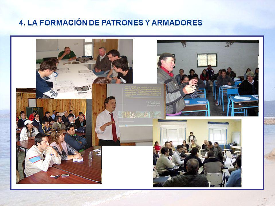 4. LA FORMACIÓN DE PATRONES Y ARMADORES