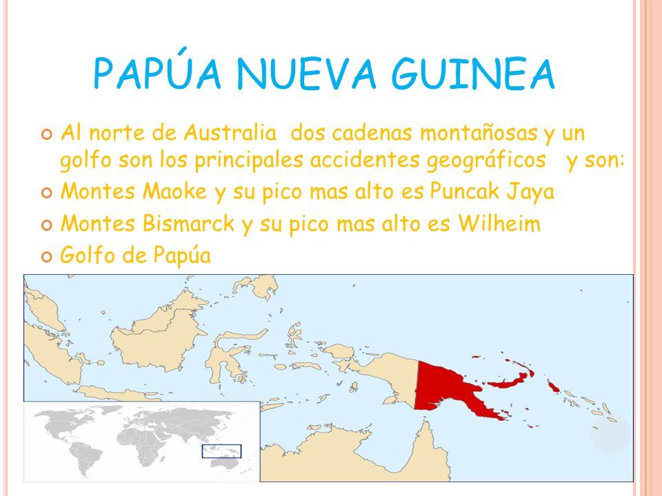 Wilheim Puncak caya Golfo de Papúa