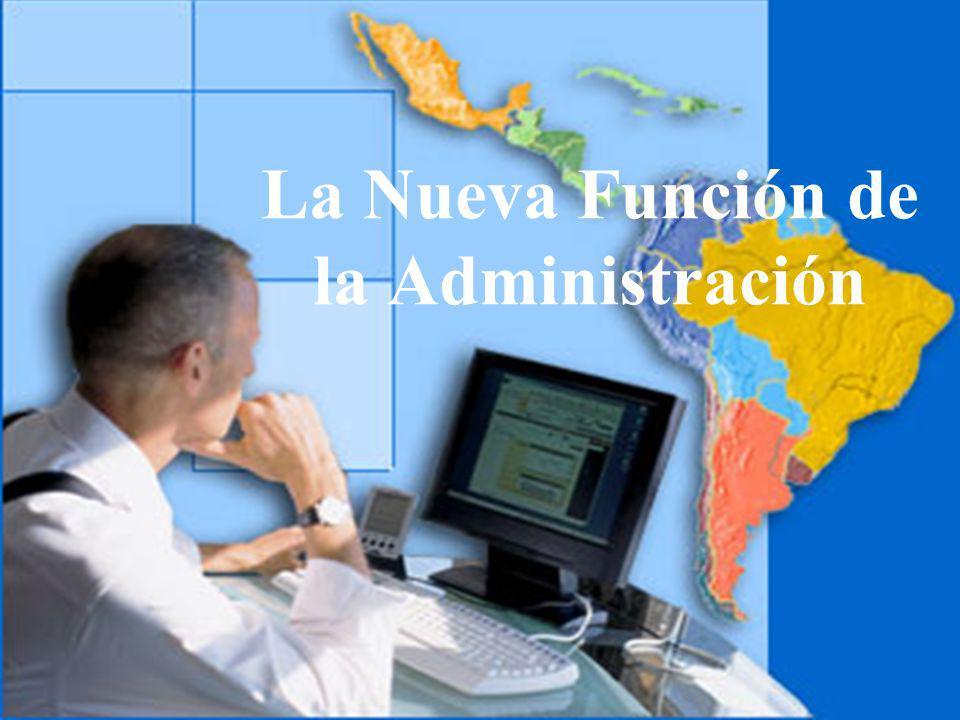 04/02/2014 07:19 a.m.Universidad de las Ciencias y el Arte de Costa Rica 14 La Nueva Función de la Administración