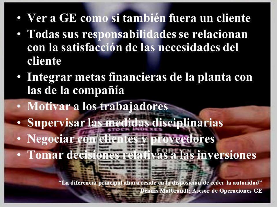 04/02/2014 07:19 a.m.Universidad de las Ciencias y el Arte de Costa Rica 15 Ver a GE como si también fuera un cliente Todas sus responsabilidades se r