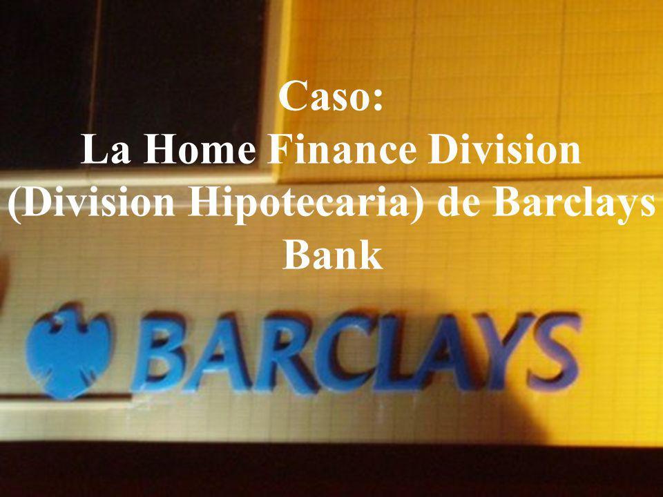 04/02/2014 07:19 a.m.Universidad de las Ciencias y el Arte de Costa Rica 21 Caso: La Home Finance Division (Division Hipotecaria) de Barclays Bank