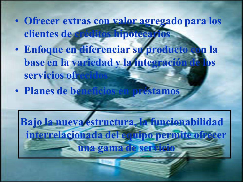 04/02/2014 07:19 a.m.Universidad de las Ciencias y el Arte de Costa Rica 26 Ofrecer extras con valor agregado para los clientes de créditos hipotecari