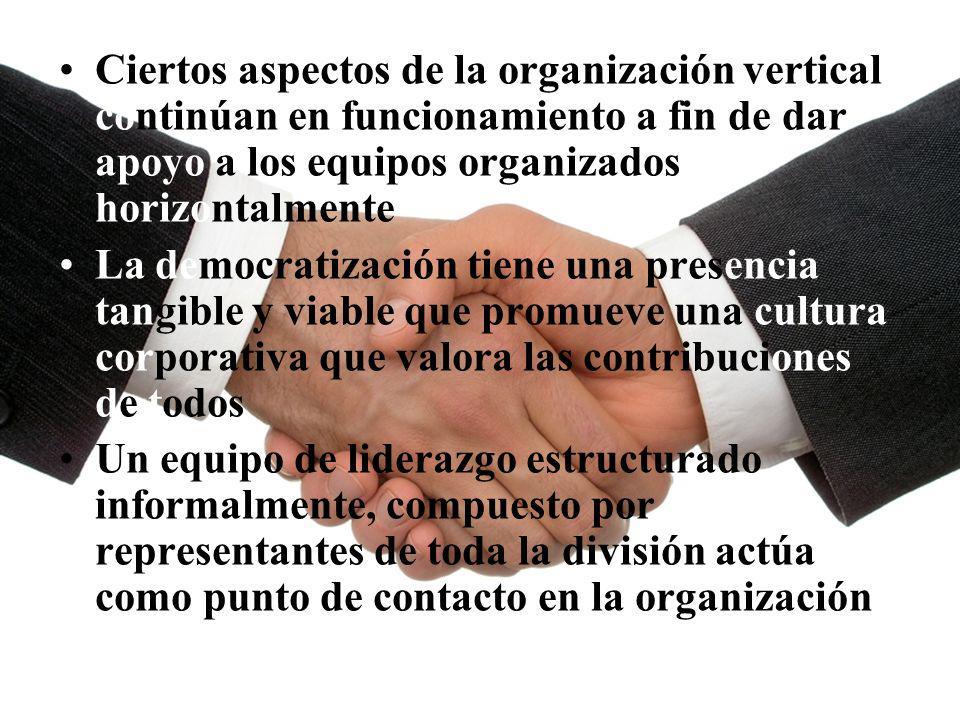 04/02/2014 07:19 a.m.Universidad de las Ciencias y el Arte de Costa Rica 29 Ciertos aspectos de la organización vertical continúan en funcionamiento a
