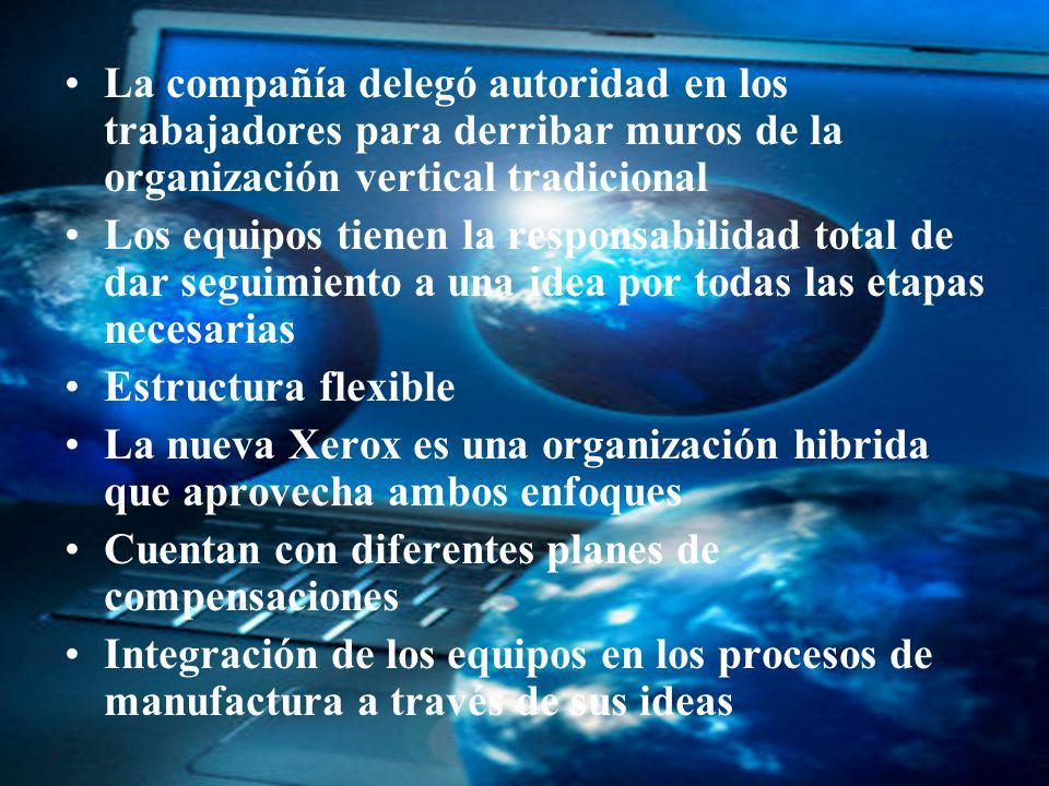 04/02/2014 07:19 a.m.Universidad de las Ciencias y el Arte de Costa Rica 38 La compañía delegó autoridad en los trabajadores para derribar muros de la