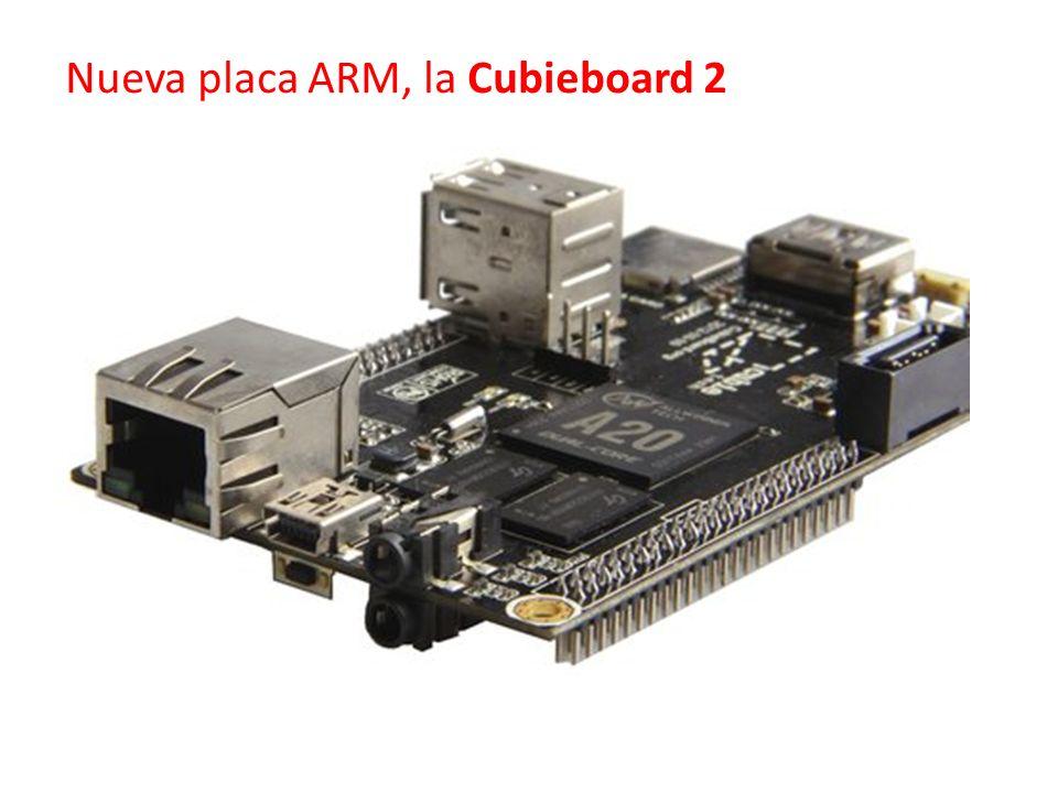 Nueva placa ARM, la Cubieboard 2