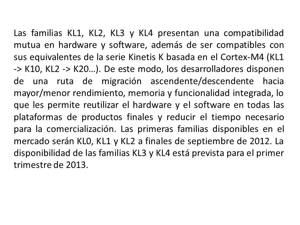Las familias KL1, KL2, KL3 y KL4 presentan una compatibilidad mutua en hardware y software, además de ser compatibles con sus equivalentes de la serie