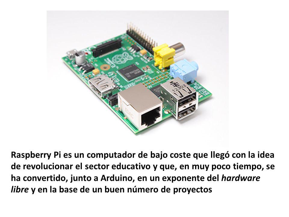Raspberry Pi es un computador de bajo coste que llegó con la idea de revolucionar el sector educativo y que, en muy poco tiempo, se ha convertido, jun