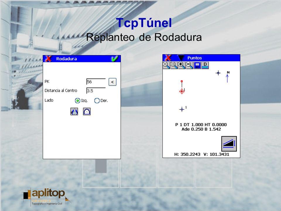 TcpTúnel Replanteo de Rodadura