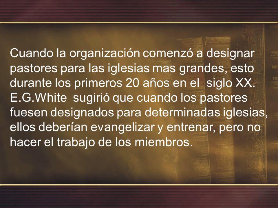 Algunos pastores reaccionaban contra el consejo de Elena de White, declarando que a pesar que estuviesen instalados en las iglesias, ellos no estaban rondando sobre ellas.