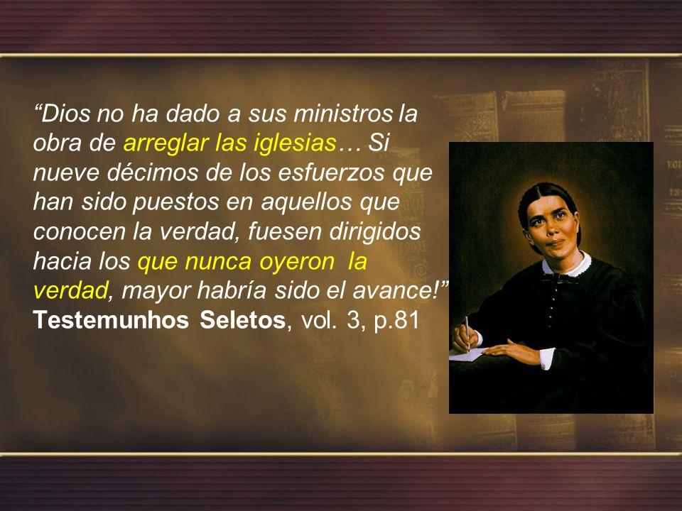 Nadie tiene el derecho de oír el evangelio dos veces mientras existe alguien que aun no escucho ni siquiera una vez.