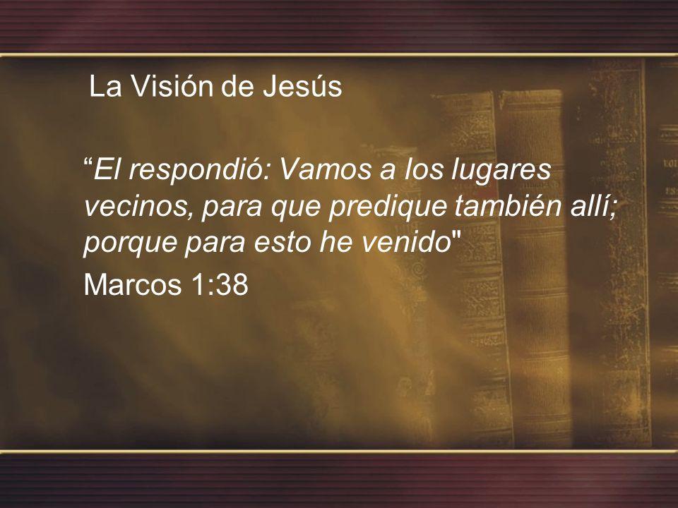De esta manera me esforcé por predicar el evangelio, donde Cristo no había sido anunciado antes, Romanos 15:20 La Visión de Pablo