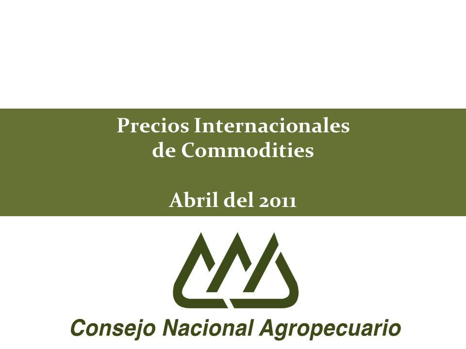 42 SUPERFICIE SEMBRADA, COSECHADA Y RENDIMIENTO DE GRANOS BASICOS Y OLEAGINOSAS MUNDIAL 1/ 1/ Datos totales para los mayores productores mundiales 2/ 2010/11 vs 2009/10 *Estimación ** Proyección en base al reporte del mes de abril del 2011 FUENTE: USDA.