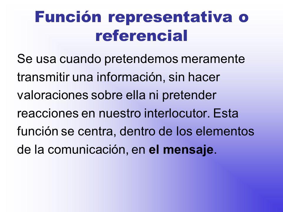 Ejemplo: Oficina de turismo En un punto de información se aclaran las dudas de los turistas acerca de la ciudad, al igual que la función metalingüística lo hace con la lengua.