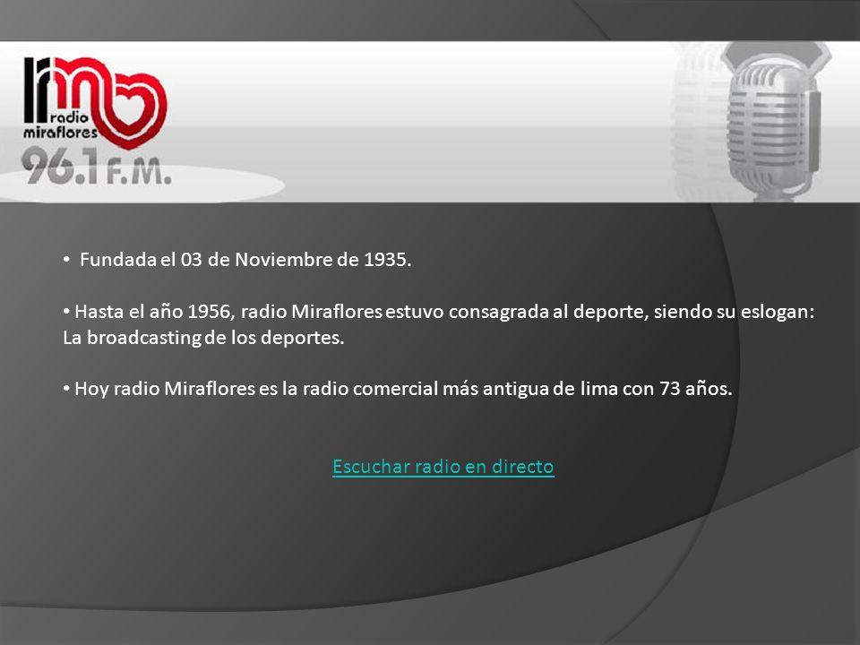 Fundada el uno de enero de 1984 con el nombre de Radio Sol Armonía.