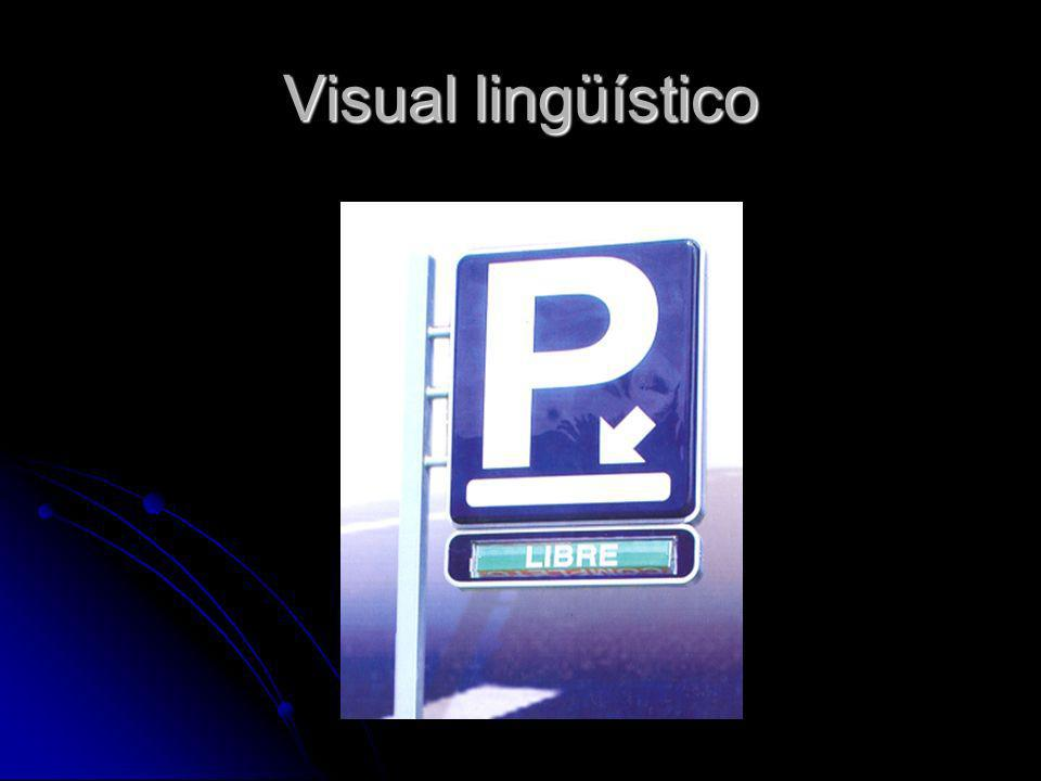 El lenguaje Lenguaje Visual LingüísticoNo lingüístico Auditivo Lingüístico No lingüístico