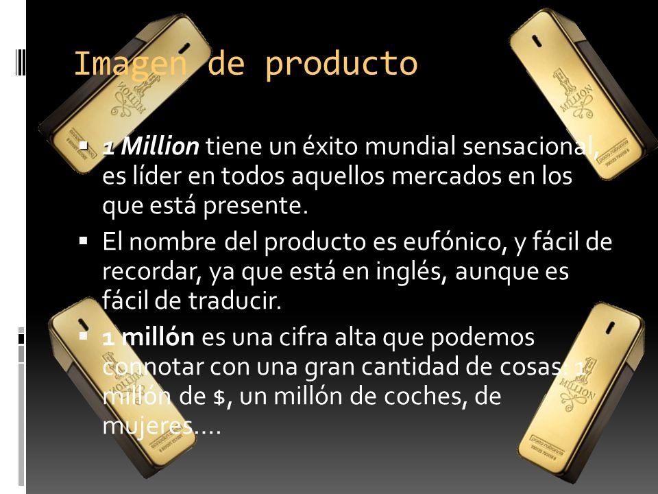 Imagen de producto 1 Million 1 Million tiene un éxito mundial sensacional, es líder en todos aquellos mercados en los que está presente. El nombre del