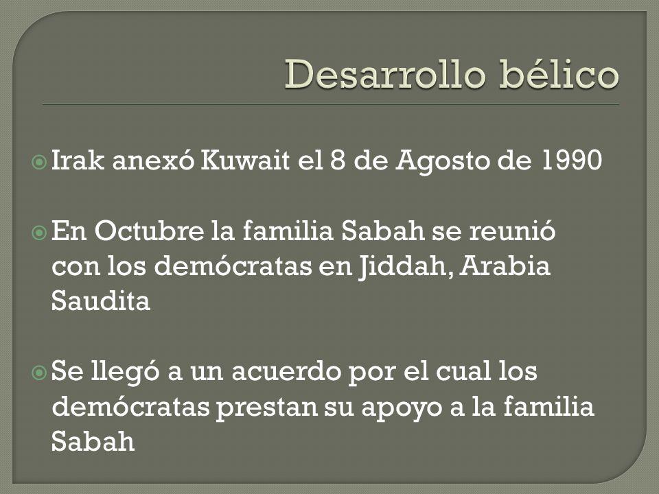 Consejo de Seguridad de las Naciones Unidas y la Liga Arabe condenaron inmediatamente la invasión 6 de Agosto de 1990 se autorizan las medidas económi