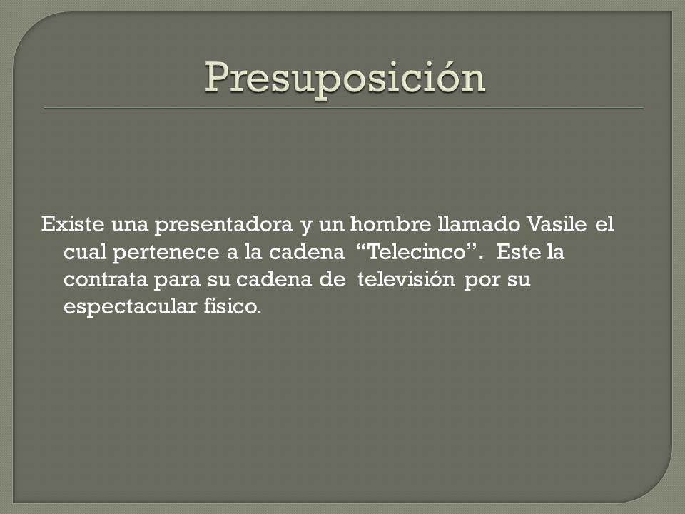 La periodista sabemos que es Pilar Rubio quien trabajaba anteriormente en un programa (Sé lo que Hicisteis ) de otra cadena, en el cual estaban vetadas la reproducción de imágenes de Telecinco.