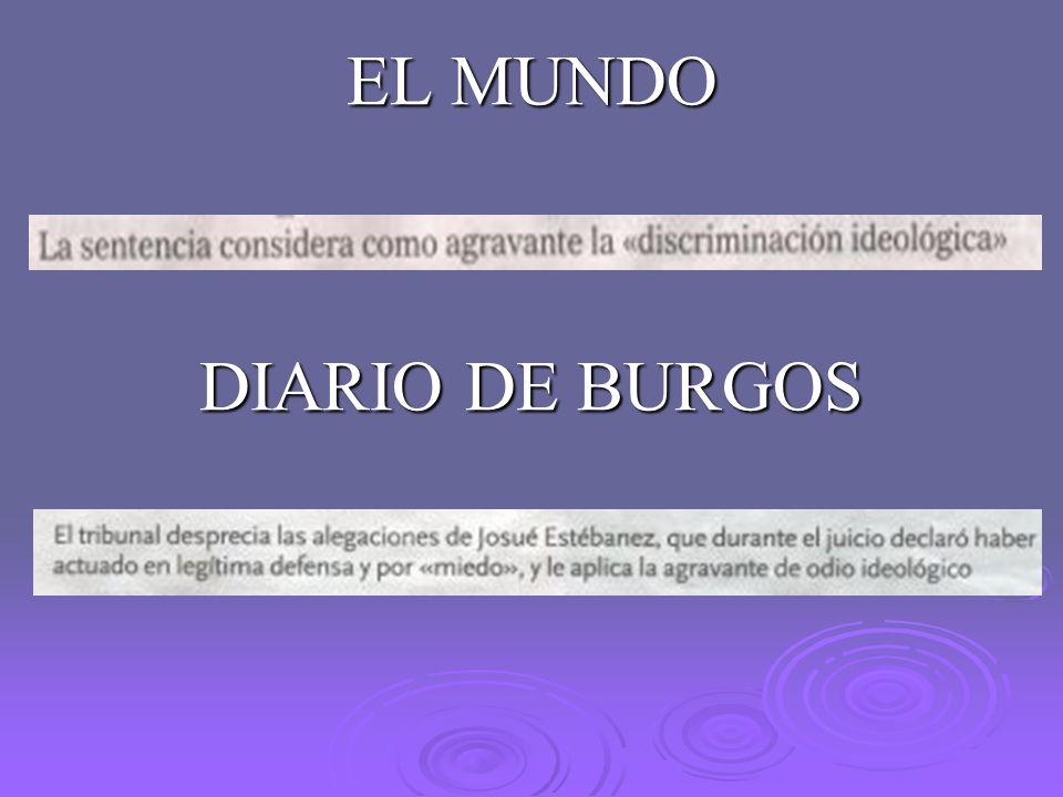 EL MUNDO DIARIO DE BURGOS