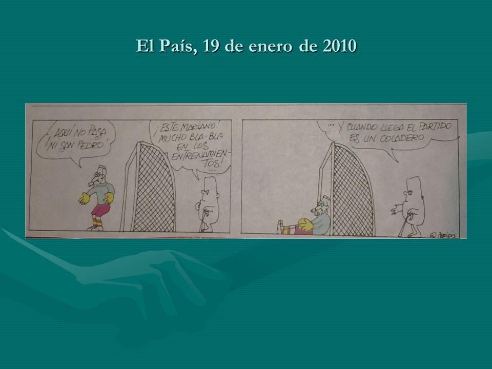 El País, 19 de enero de 2010