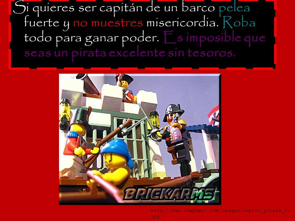 Navegue y controle el barco si es capitán.No permita que nadie tome su poder.