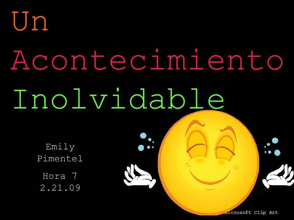 Microsoft Clip Art Un Acontecimiento Inolvidable Emily Pimentel Hora 7 2.21.09
