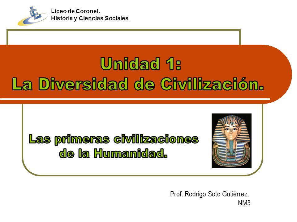 Prof. Rodrigo Soto Gutiérrez. NM3 Liceo de Coronel. Historia y Ciencias Sociales.