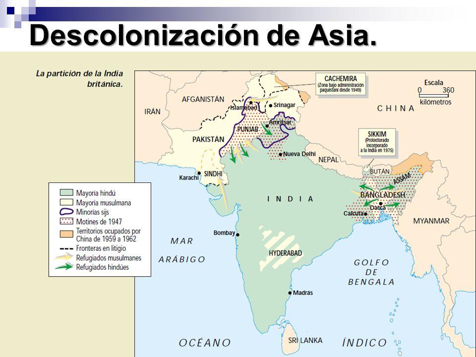 Descolonización de Asia.