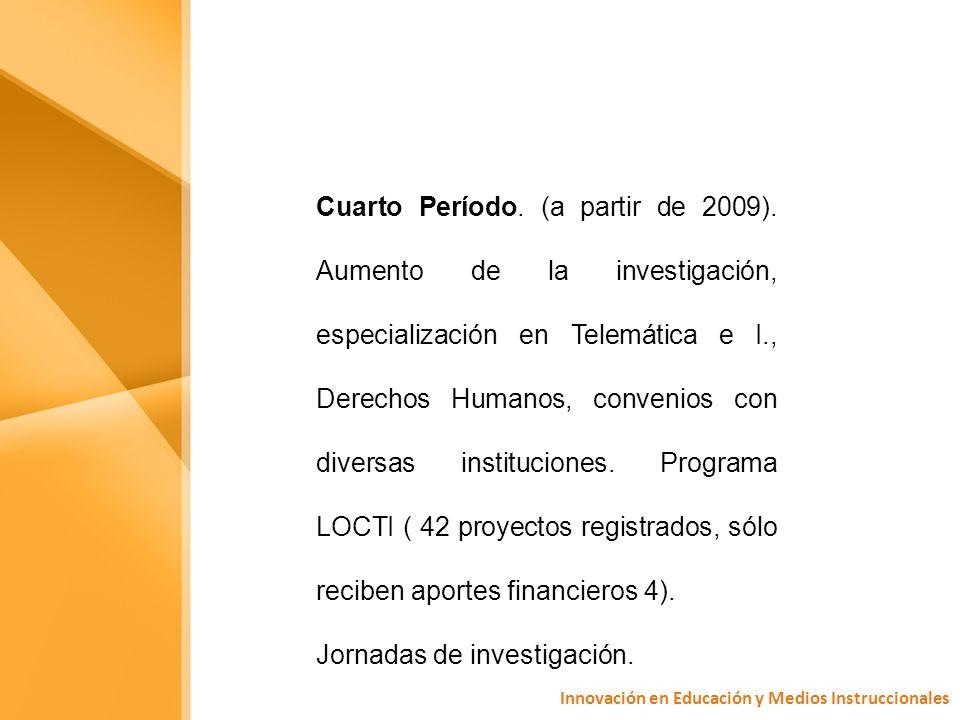 Los grupos de investigación, funciones: 1.