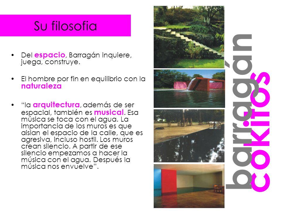 madero Se toman como base los elementos utilizados por Barragán en su obra y se aplican en una zona de Puerto madero para crear un paseo.