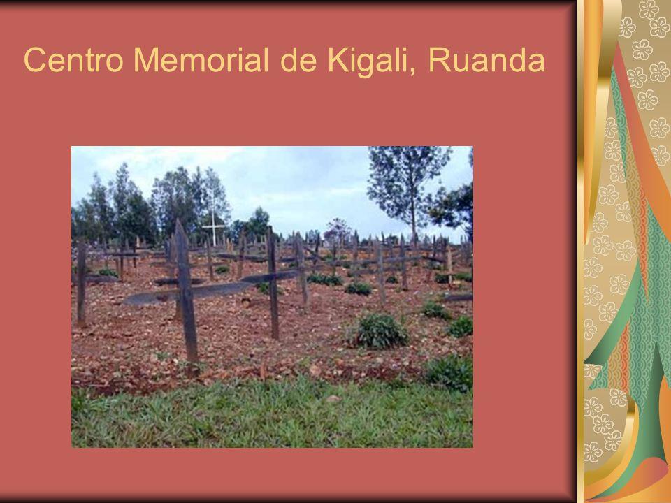 Centro Memorial de Kigali, Ruanda
