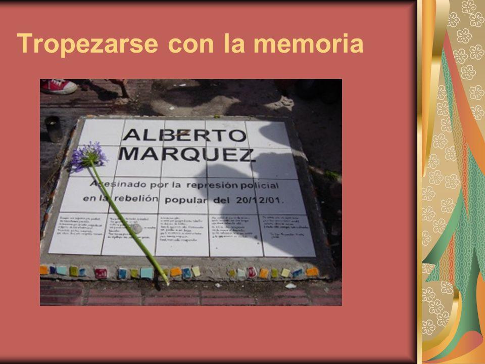 Tropezarse con la memoria