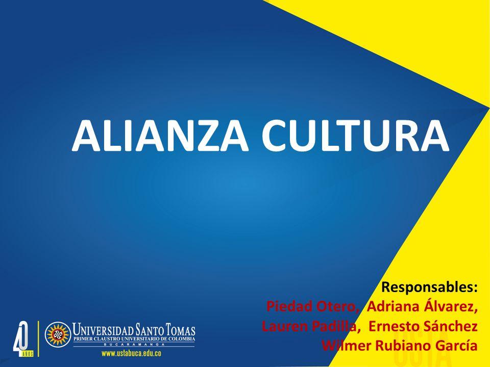 El proyecto ALIANZA CULTURA se enmarca en los espacios formativos de las cátedras Arte y Humanismo y Filosofía Institucional.