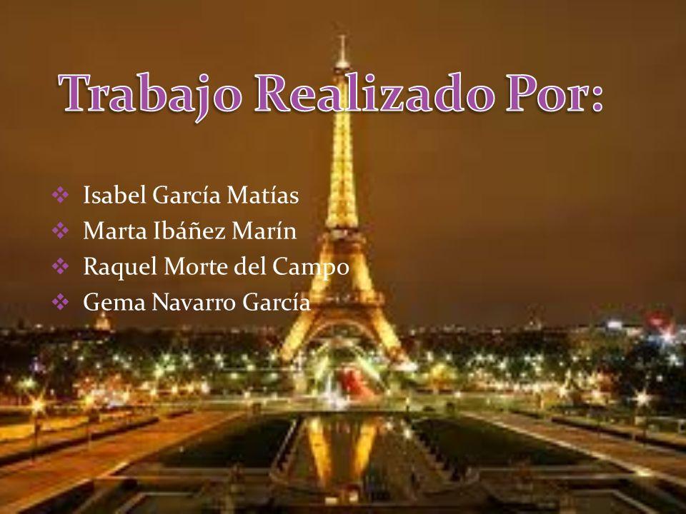 Isabel García Matías Marta Ibáñez Marín Raquel Morte del Campo Gema Navarro García