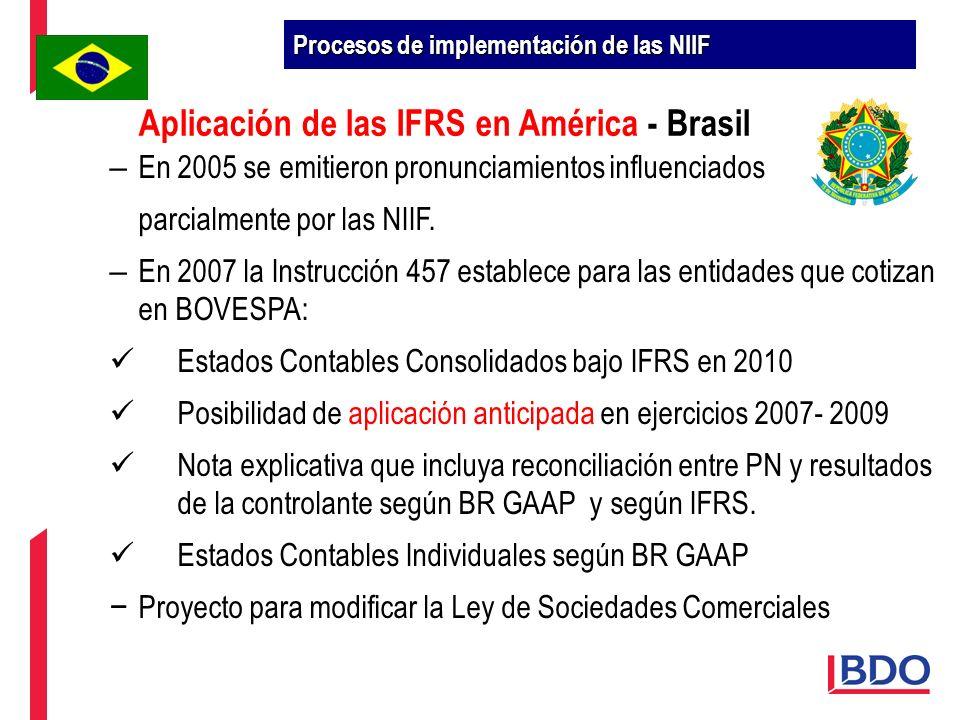 – En 2005 se emitieron pronunciamientos influenciados parcialmente por las NIIF. – En 2007 la Instrucción 457 establece para las entidades que cotizan