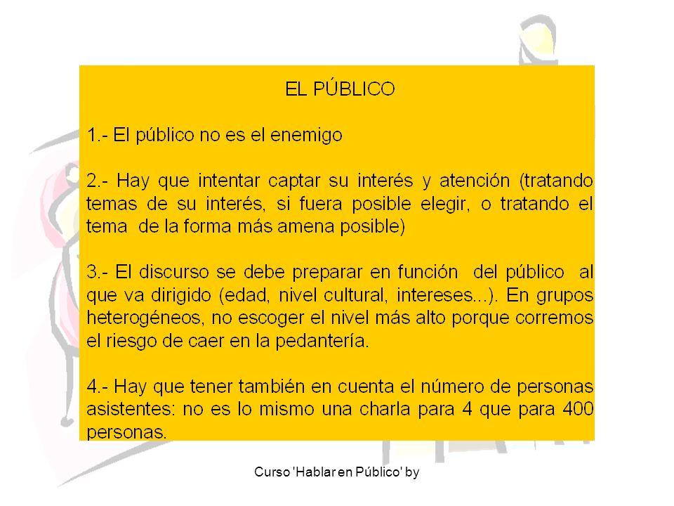 Curso 'Hablar en Público' by