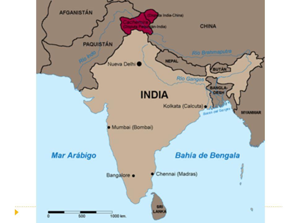 Desarrollo bélico: Primera Guerra (1947-1948) Primera Guerra de Cachemira,.