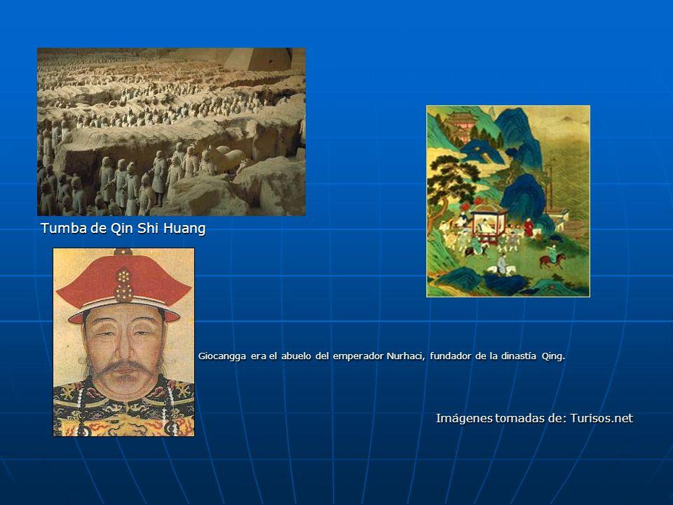 Tumba de Qin Shi Huang Giocangga era el abuelo del emperador Nurhaci, fundador de la dinastía Qing.