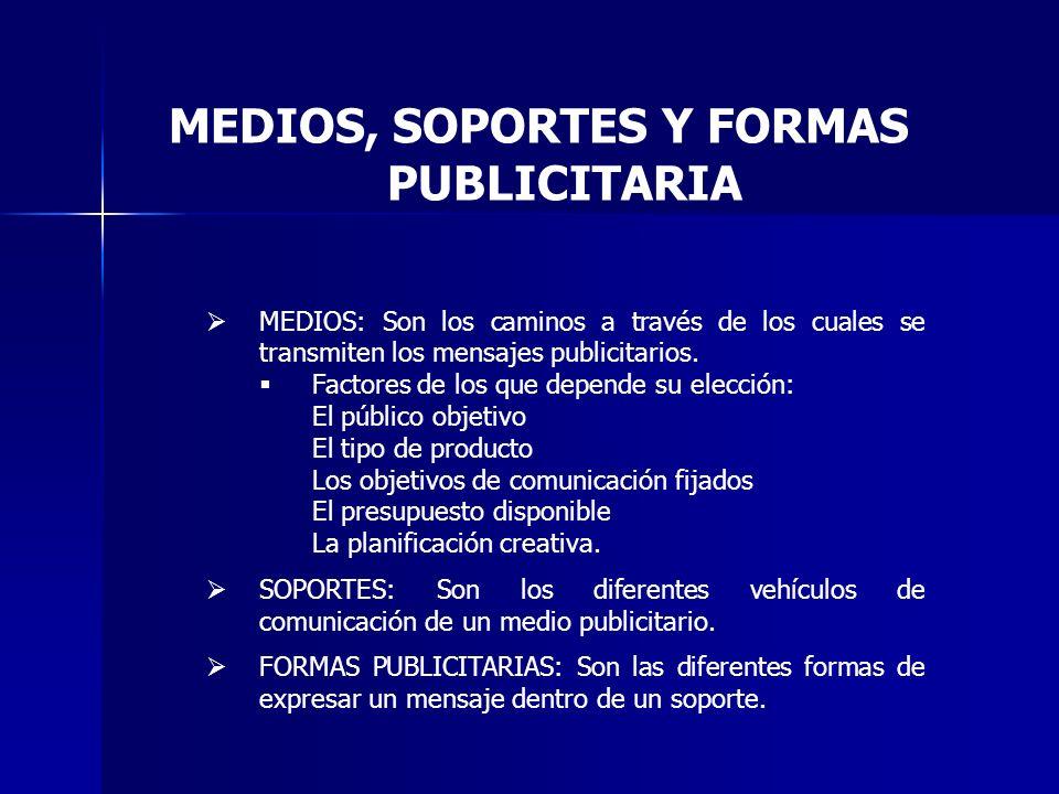 CAMPAÑA PUBLICITARIA : consiste en una serie coordinada de mensajes publicitarios que aparecen durante un tiempo determinado en diferentes medios de comunicación con unos objetivos concretos.