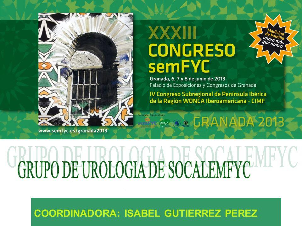 COORDINADORA: ISABEL GUTIERREZ PEREZ