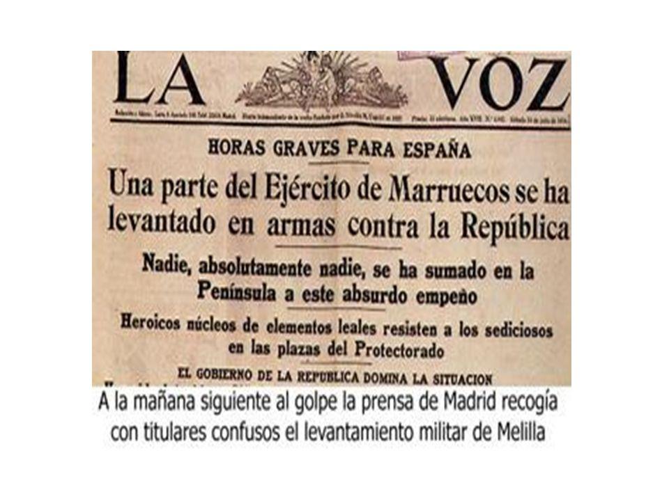 AVANCES TECNOLÓGICOS.MAR BANDO REPUBLICANO Se utilizaron: Acorazados.