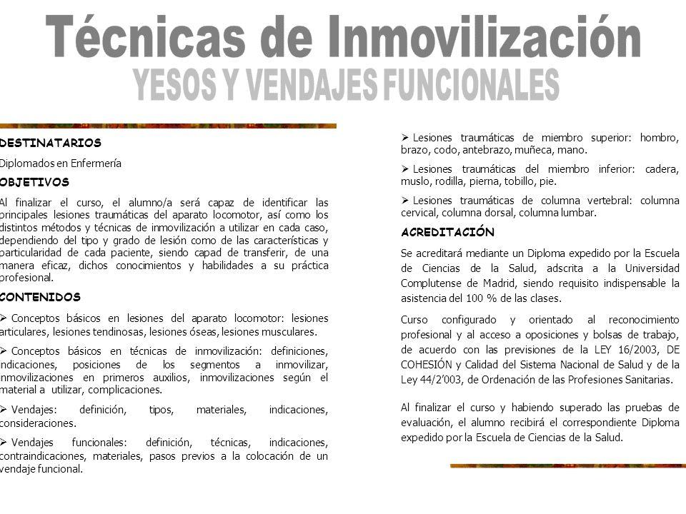 Imparte: Escuela Ciencias de la Salud, adscrita a la Universidad Complutense de Madrid.